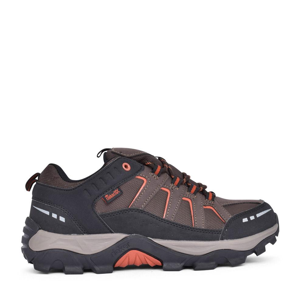 MENS B8820 TEX LACED WALKING SHOE in BROWN