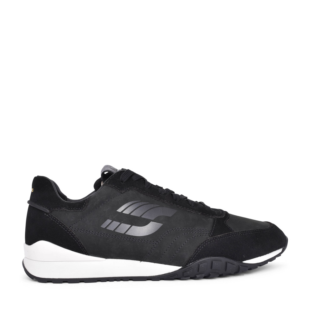 MENS CRAFTLO LACE COMBI G-FIT LACED TRAINER in BLACK