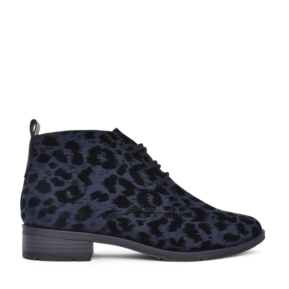LADIES 2-25101 LACED BOOT in NAVY
