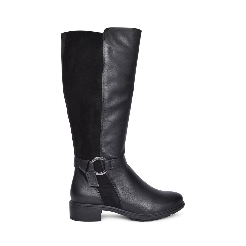 LADIES 1-25550 LONG LEG BOOT in BLACK