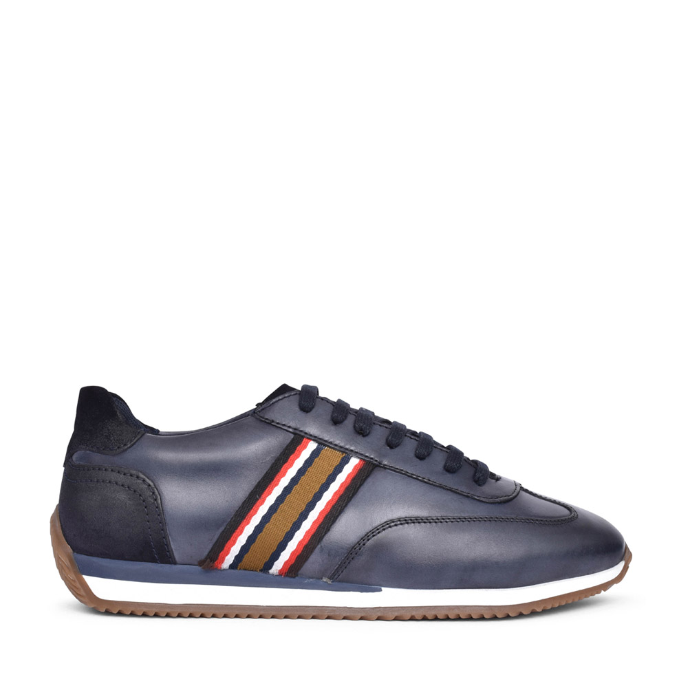 MENS MAYO VH02 LACED TRAINER in NAVY