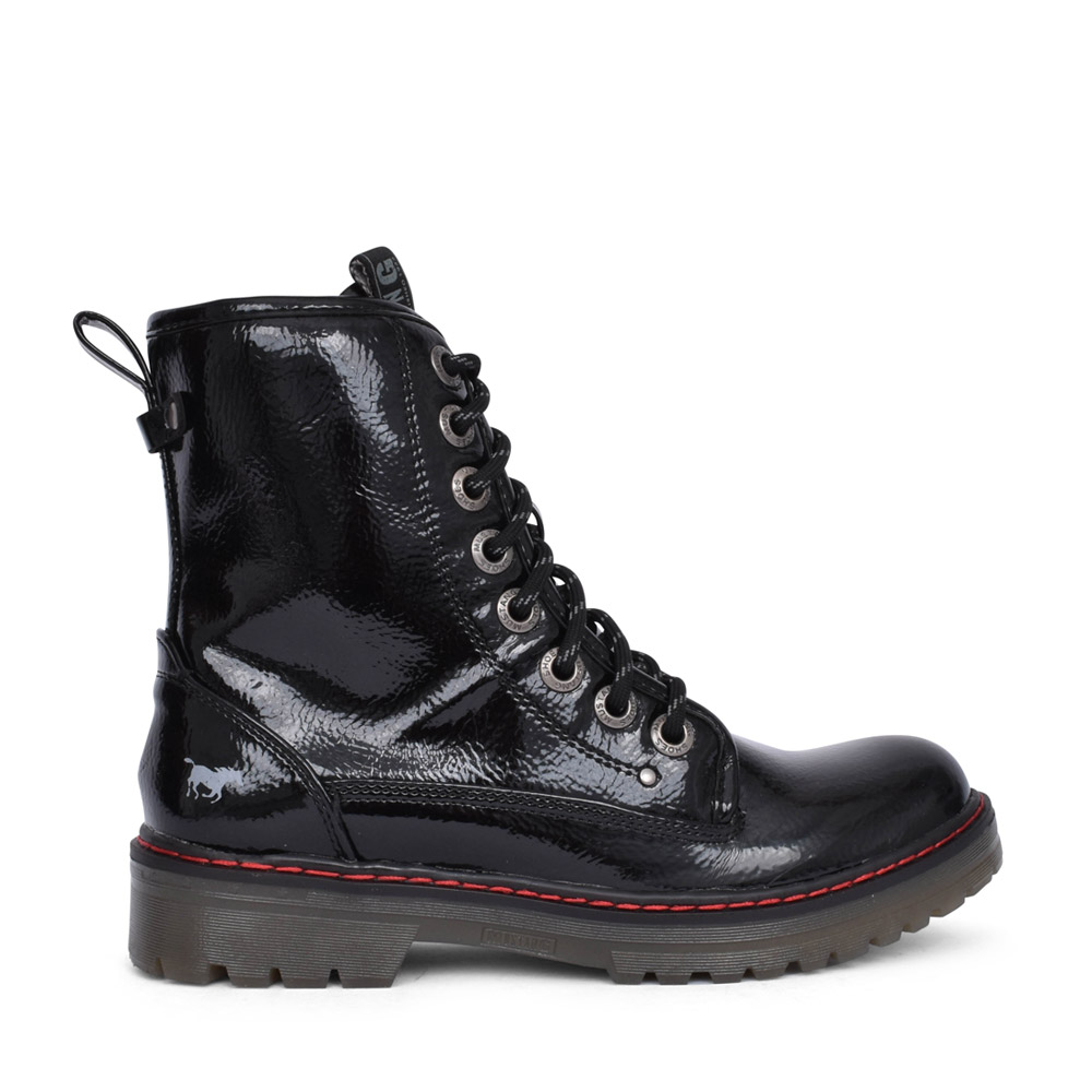 LADIES 1366508 LACED BOOT in BLACK