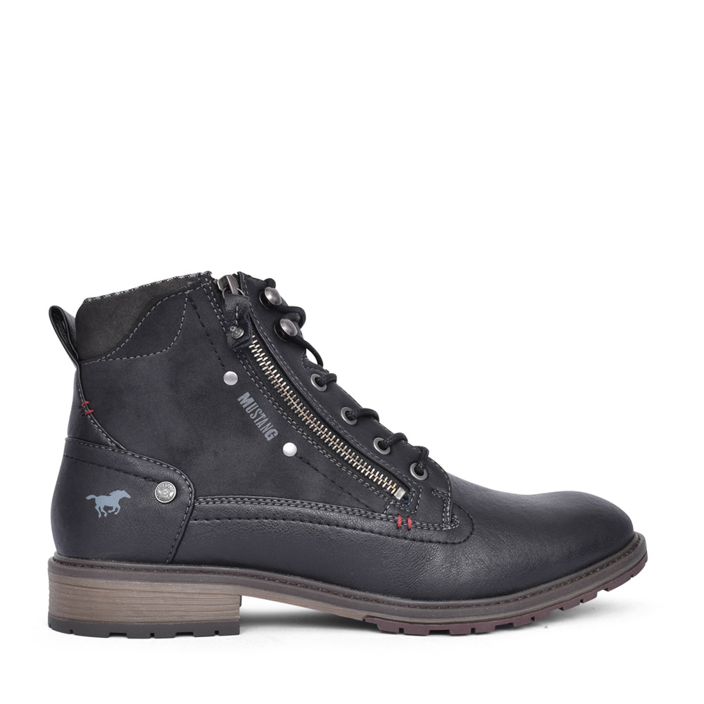 MENS 4140506 ANKLE BOOT in BLACK