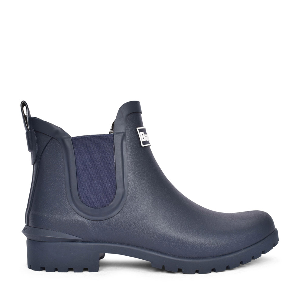 LADIES WILTON WELLY BOOT in NAVY