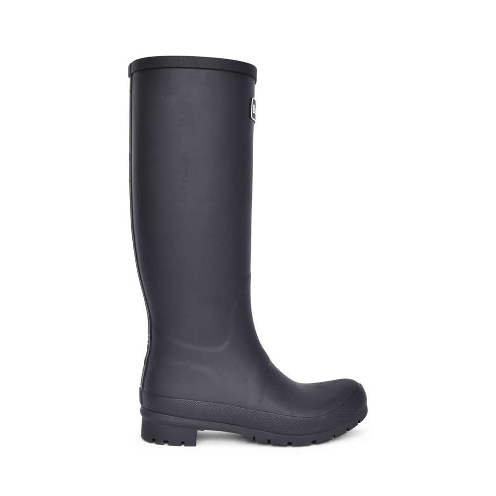 LADIES ABBEY WELLY BOOT in BLACK