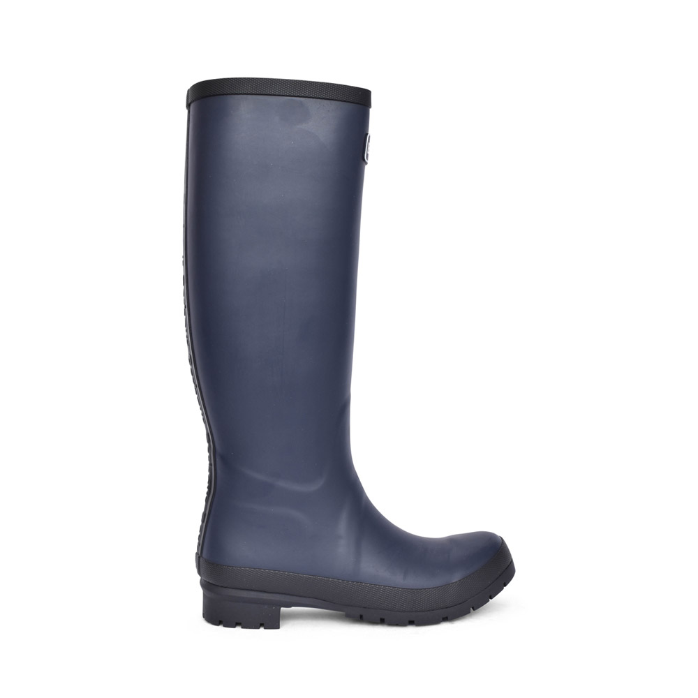 LADIES ABBEY WELLY BOOT in NAVY