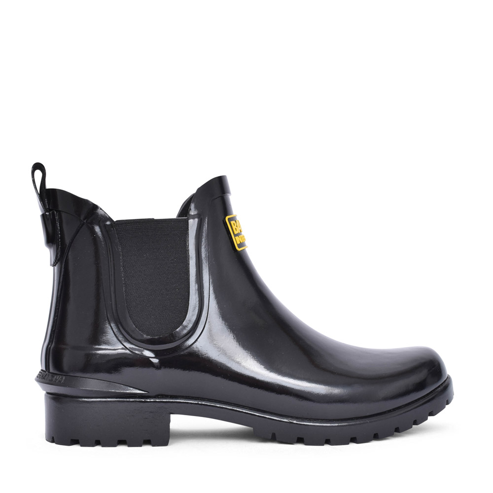 LADIES ASSEN ANKLE WELLY BOOT in BLACK