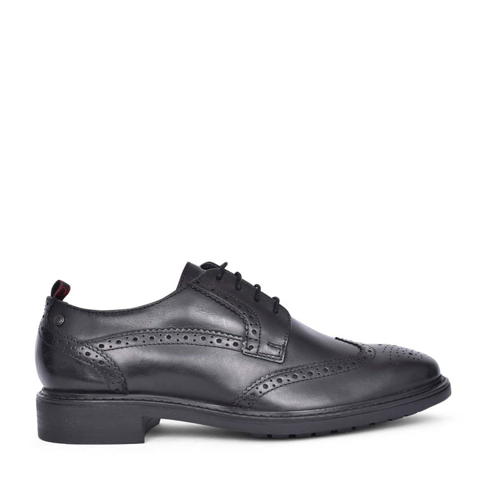 MENS LENNOX UO03 LACED SHOE in BLACK