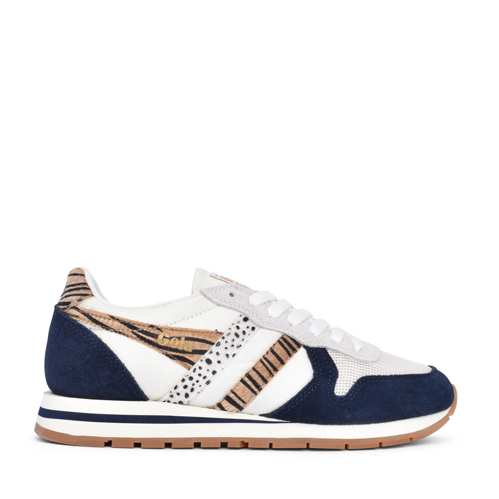 LADIES DAYTONA CLB019 LACED TRAINER in NAVY