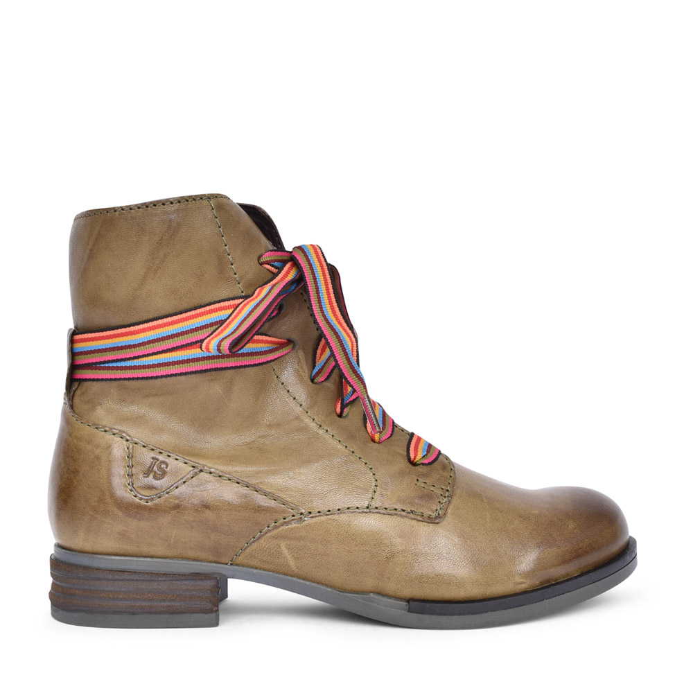LADIES 76504 SANJA 04 LACED BOOT in OLIVE