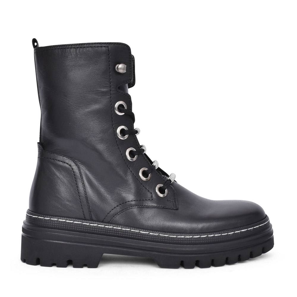 LADIES GALLOW 71.725 LACED BOOT in BLACK