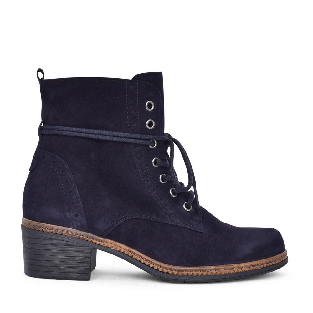 LADIES SOUL 74.660 LACED BOOT in NAVY