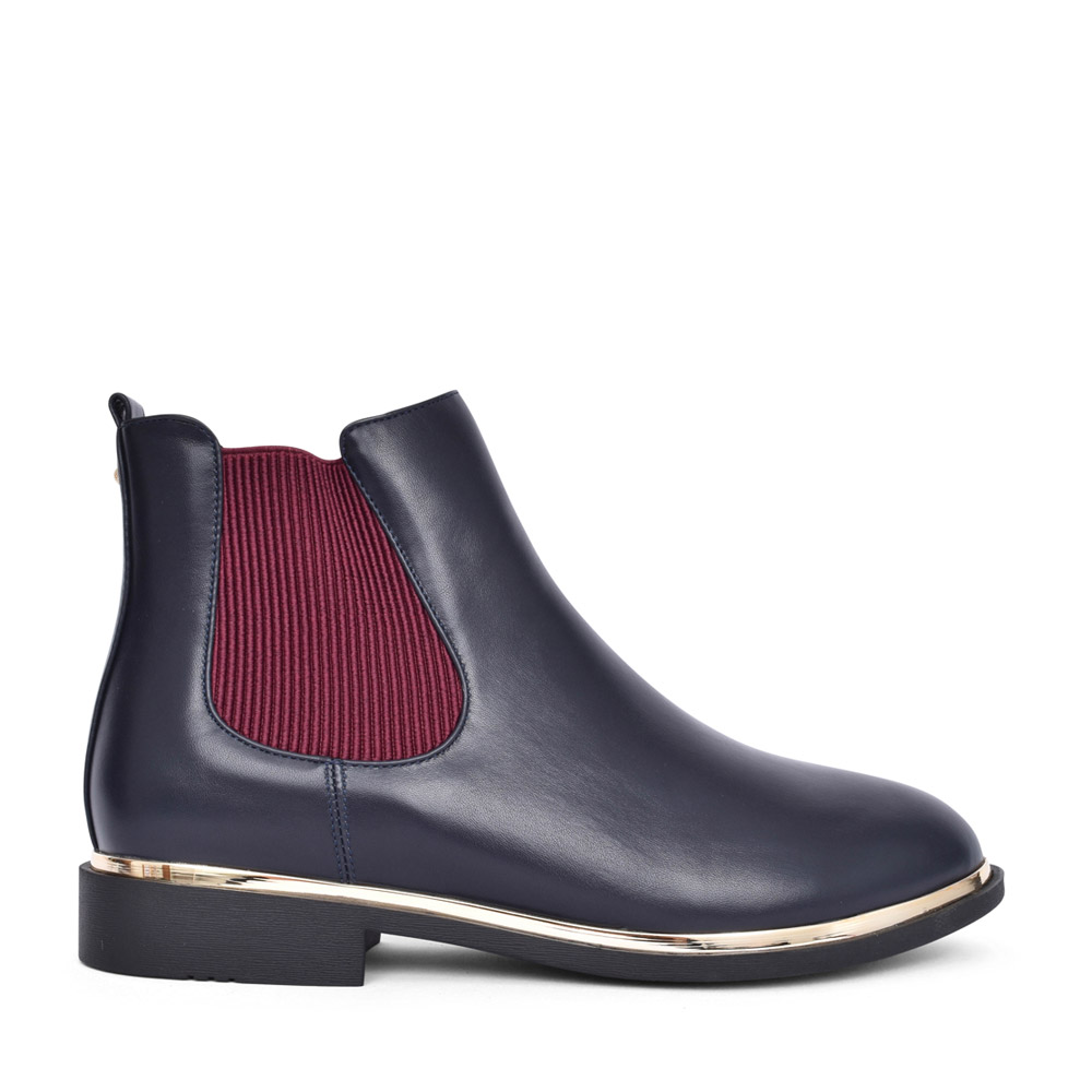 LADIES JERMUK CHELSEA BOOT in NAVY