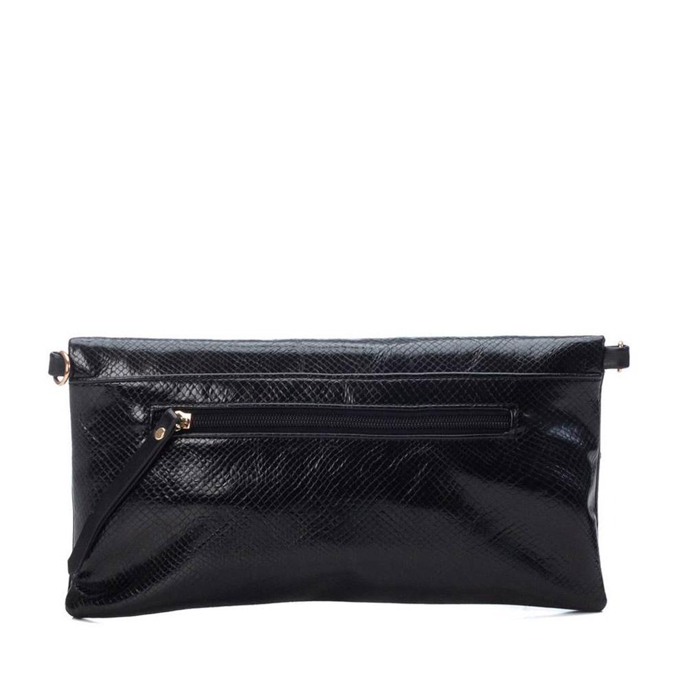 LADIES 86570 CLUTCH BAG in BLACK
