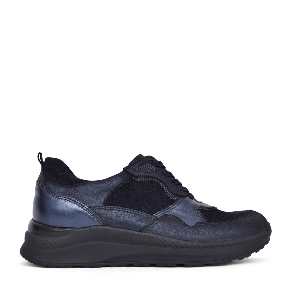 LADIES 760002 H-ROSA LACED TRAINER in NAVY