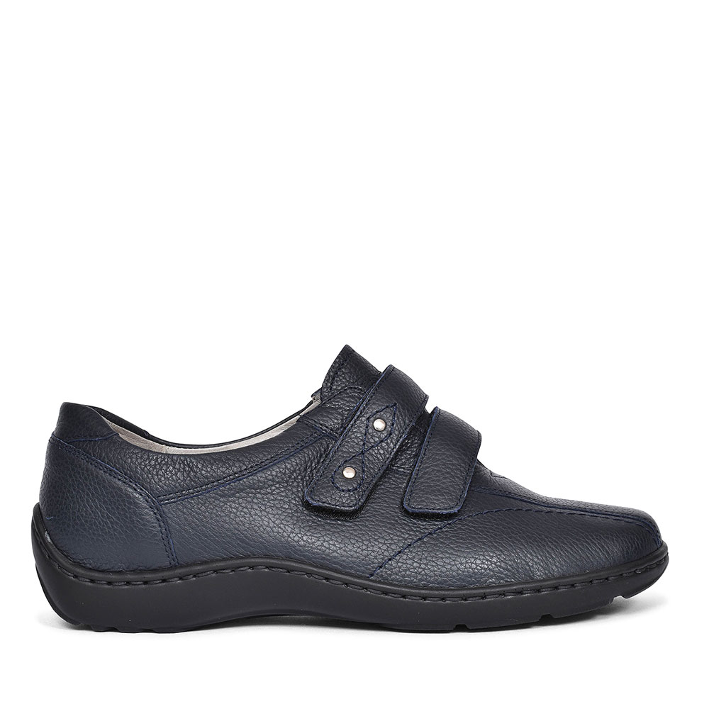 LADIES 496301 HENNI H-FIT VELCRO SHOES in NAVY