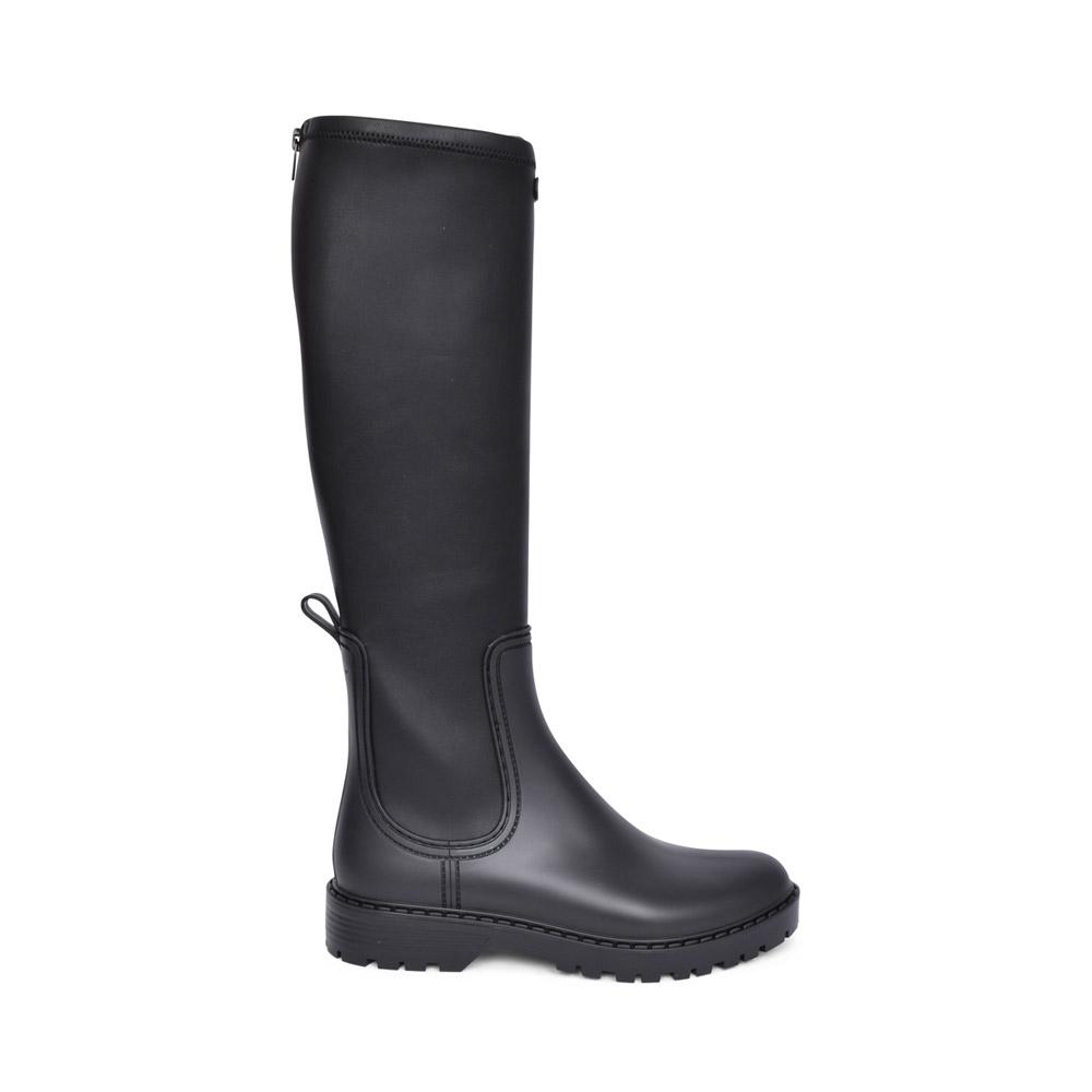 LADIES ARLO LONG LEG WATER BOOT in BLACK