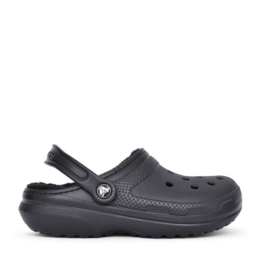 UNISEX 23591 CLASSIC FUZZ-LINED CLOG in BLACK