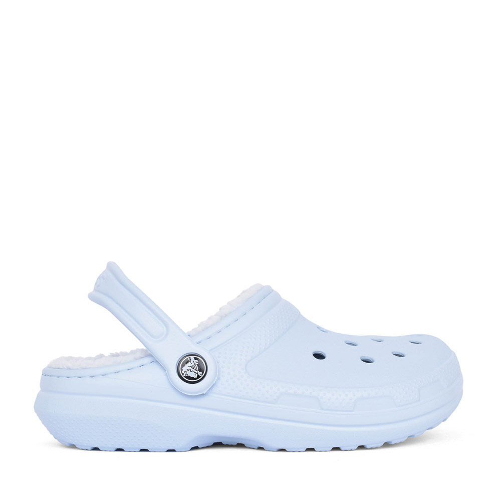 UNISEX 23591 CLASSIC FUZZ-LINED CLOG in BLUE