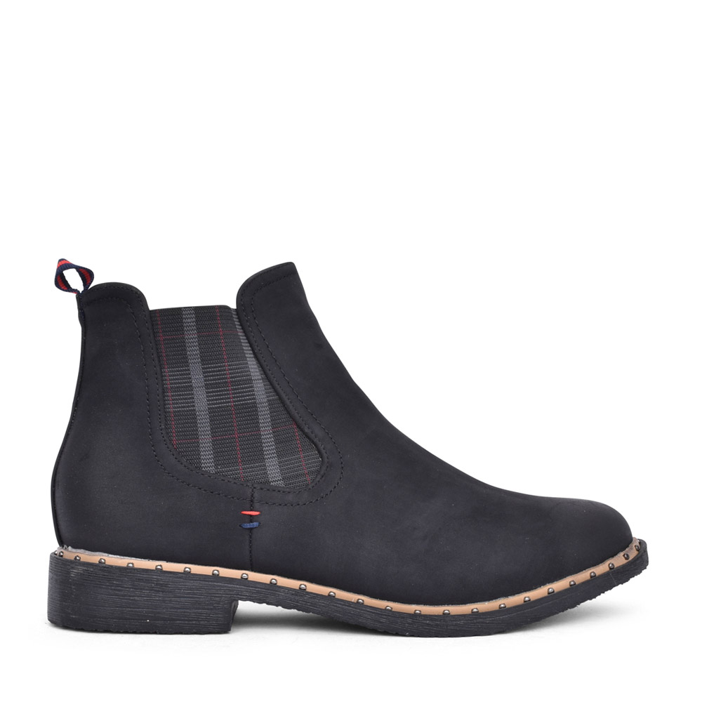 LADIES F725-3F ANKLE BOOT in BLACK